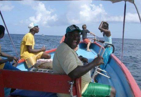 Bootstouren auf Tobago in der Karibik mit Alibaba Tours aus Castara