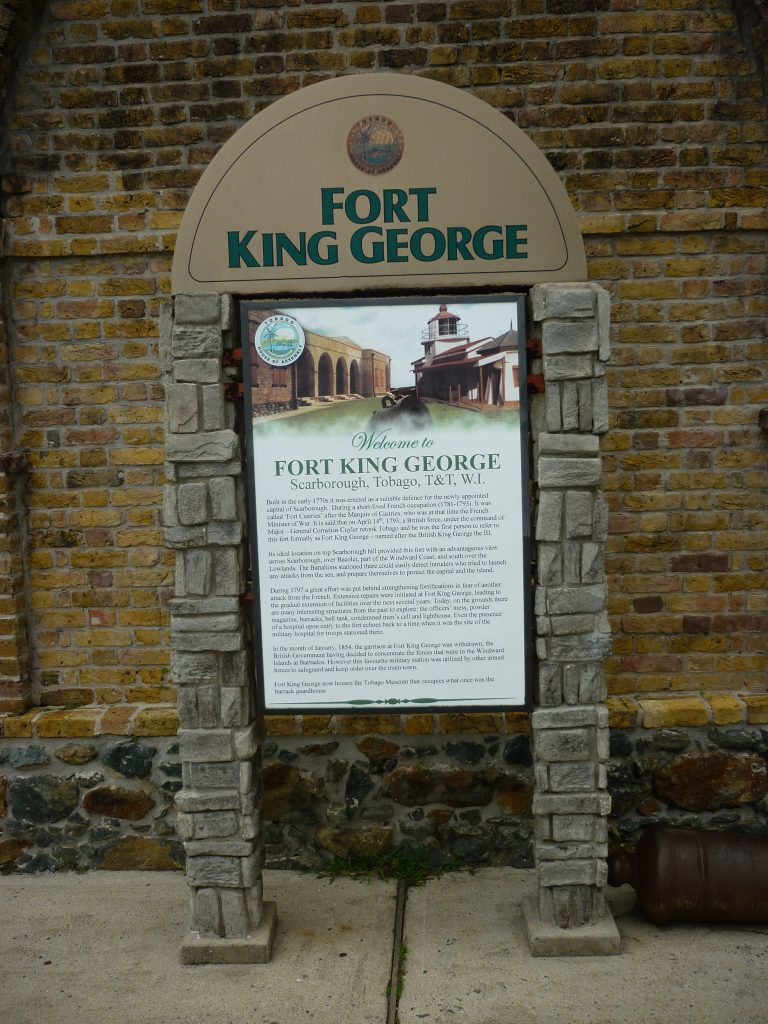 Fort King George in Scarborough auf Tobago
