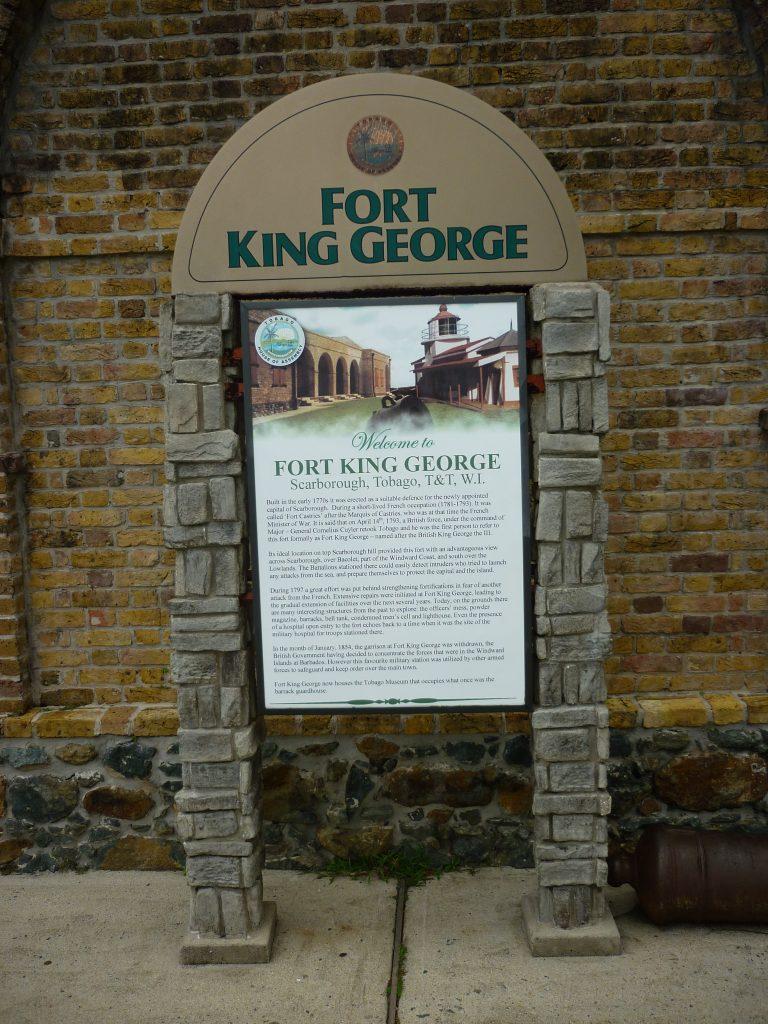 Fort King George in Scarborough auf Tobago