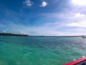 Blick auf No Man´s Land und Bon Accord Lagoon, Tobago