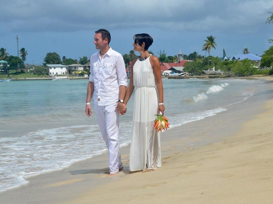 Unsere Hochzeit am Strand in Buccoo auf Tobago hat uns der Insel in der Karibik noch näher gebracht.