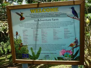 Adventure Farm & Nature Reserve in Plymouth auf Tobago in der Karibik