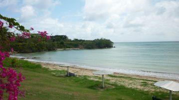 Canoebay am südlichen Atlantik auf Tobago