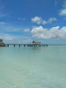 Pigeon Point auf Tobago ist ein Traumstrand und auch perfekt für Familienurlaub in der Karibik.