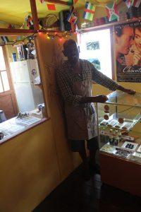 Jean Claude Petit und Tobago Chocolate Delight sind ein tolles Ziel für Souvenirs, Schokolade, Kakao auf Tobago und Trinidad und Tobago in der Karibik