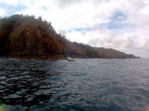 Die Küste an der Karibik auf Tobago und Trinidad und Tobago ist grün. Es gibt auch Sandstrand und Strand. Mit der Bootstour mit Alibaba aus Castara erkundet man die Insel. Auch mit BBQ im Nylon Pool und No Man´s Land.
