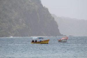 Die Küste an der Karibik auf Tobago und Trinidad und Tobago ist grün. Es gibt auch Sandstrand und Strand. Mit der Bootstour mit Alibaba aus CAstara erkundet man die Insel. Auch mit BBQ im Nylon Pool, Buccoo Reef und No Man´s Land.